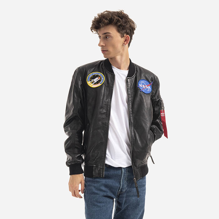 Alpha Industries Ma-1 Lw Nasa Leather 126151 03