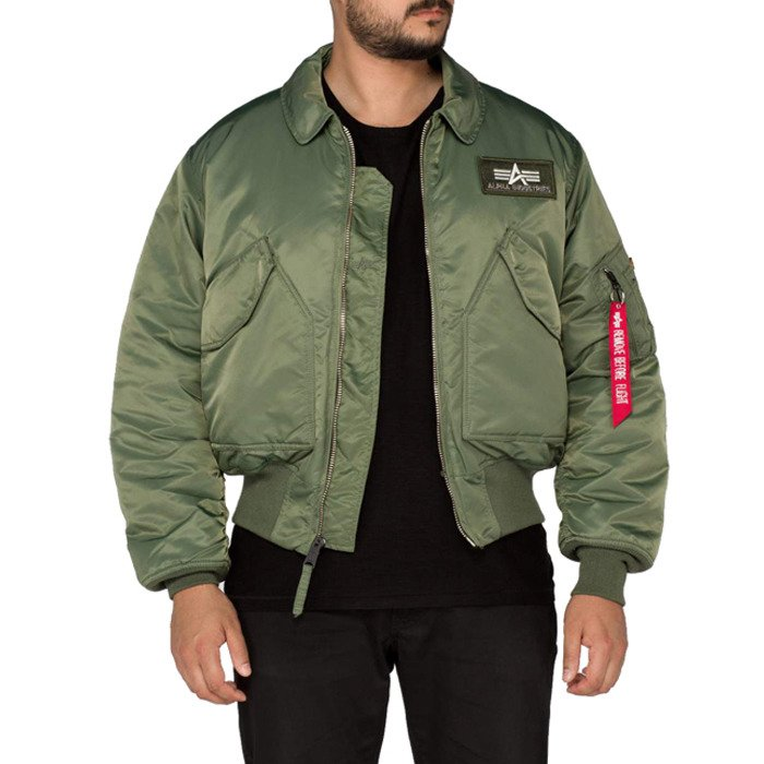 Pánska bunda Alpha Industries CWU 45 100102 01