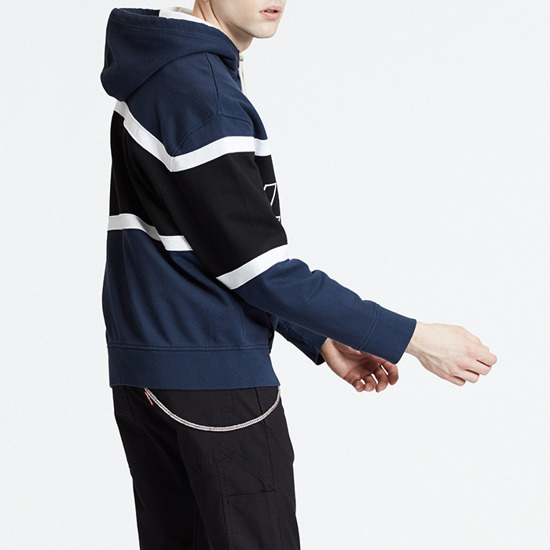 Levi's® Pieced Hoodie 81954-0001