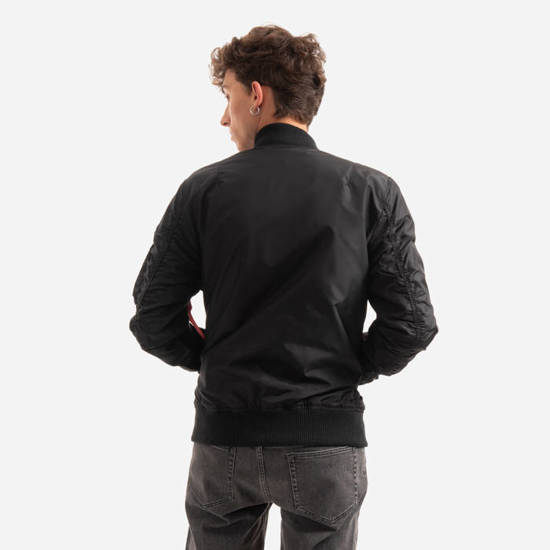 "Alpha Industries MA-1 TT ""Black"" 191103 03"