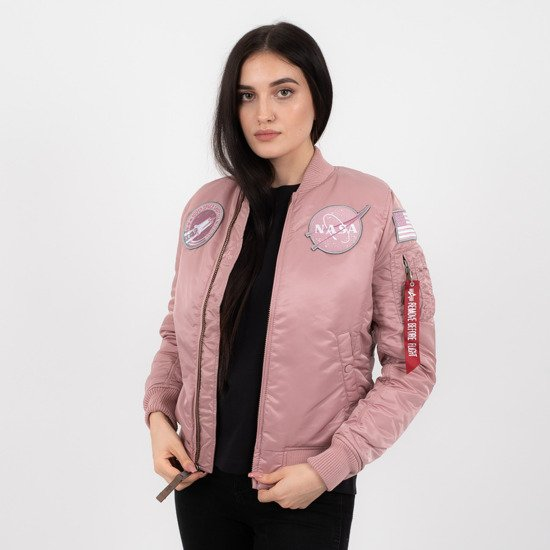 Dámska bunda Alpha Industries MA-1 Vf Nasa 168007 397