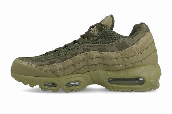 "Pánske topánky sneakers Nike Air Max 95 Premium ""Neutral Olive"" 538416 201"