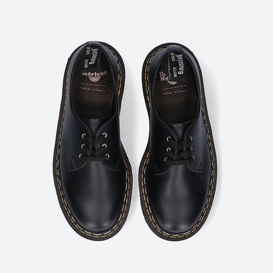 Rick Owens x Dr. Martens 1460 Bex Sole Lace Up DM21S6805 6001 BLACK