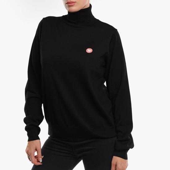 Wood Wood Bea Turtleneck 10001007-4142 BLACK