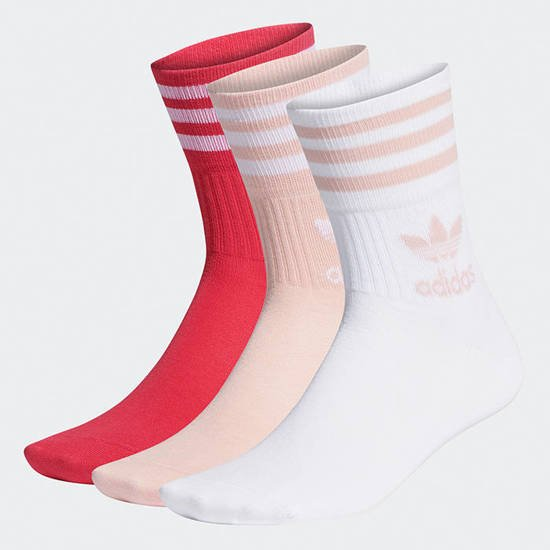 adidas Originals Mid Cut Crew Socks 3-pack GD3579