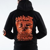 Carhartt WIP International Operations Hoodie I028466 BLACK/ORANGE
