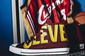 Dámske topánky sneakers Converse Chuck Taylor Nba Cleveland Cavaliers 159417C