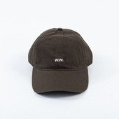 Wood Wood Low Profile Cap 12030803-7083 BROWN